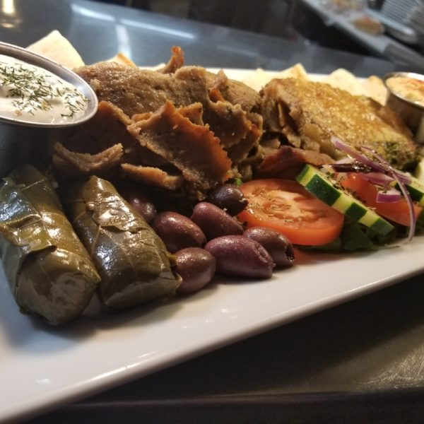 Large Meze Sample Plate